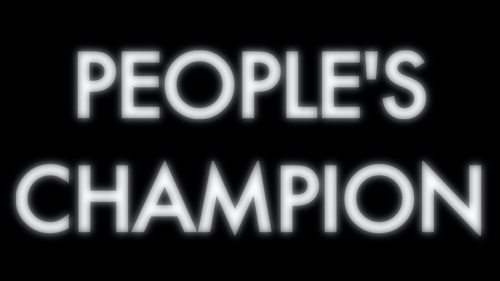 Project image for Eli Porter/Iron Mic Documentary: 'People's Champion'