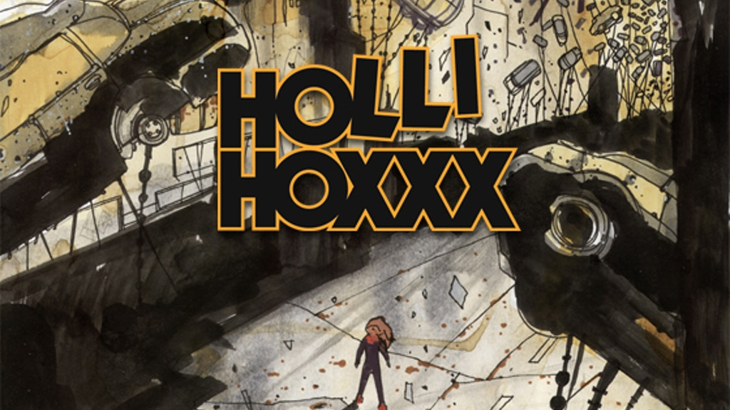 HOLLI HOXXX: A Graphic Novel by Austin & Adam Tinius project video thumbnail