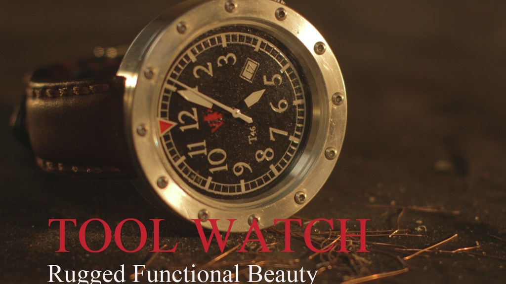 TOOL WATCH - A Tool not a Jewel. project video thumbnail