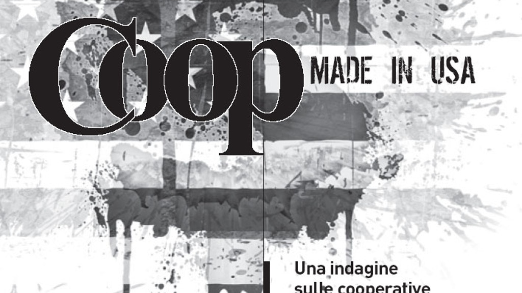 COOP-made-in-USA book project video thumbnail