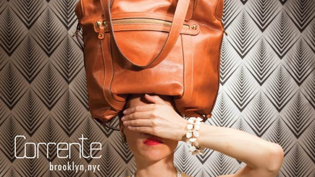 Corrente: Handbags Made in Brooklyn project video thumbnail