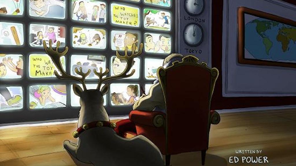 """""""Santa vs Dracula!"""" Full Color, 175 Page, Graphic Novel project video thumbnail"""