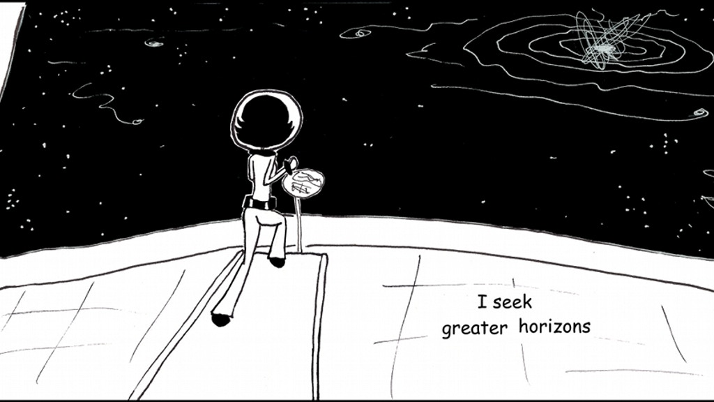 The Loneliest Spacegirl Goes to APE project video thumbnail