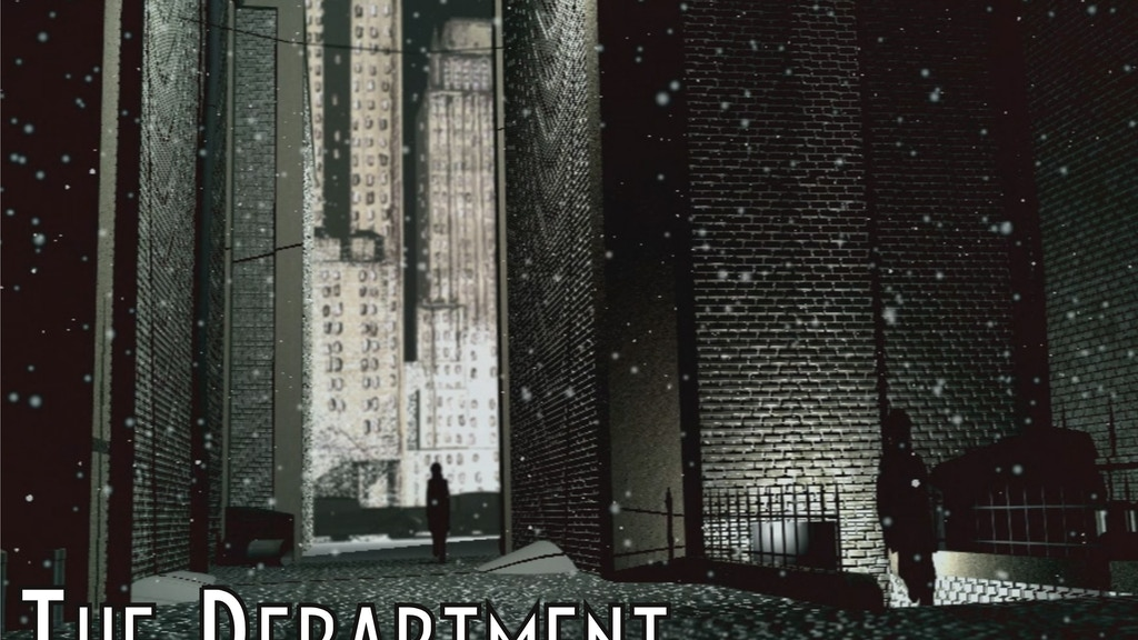 The Department: Sci-Fi Noir Tabletop Wargame/RPG project video thumbnail