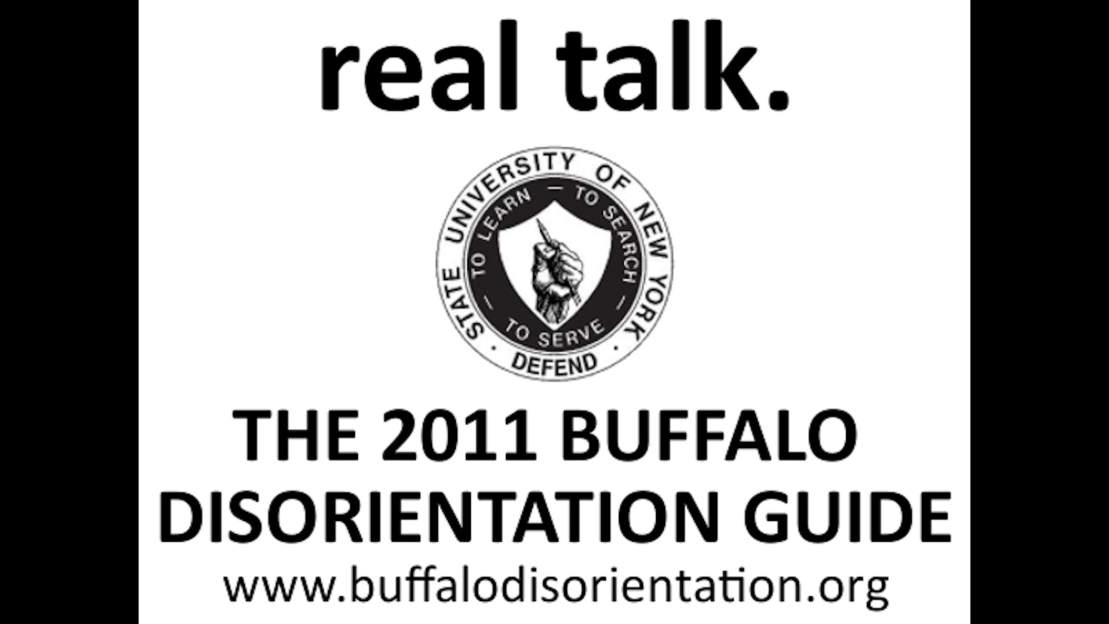 Buffalo Disorientation Guide 2011 by cayden —Kickstarter