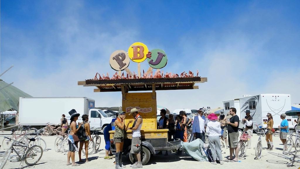 PB&J Cart (for Burning Man 2012) project video thumbnail