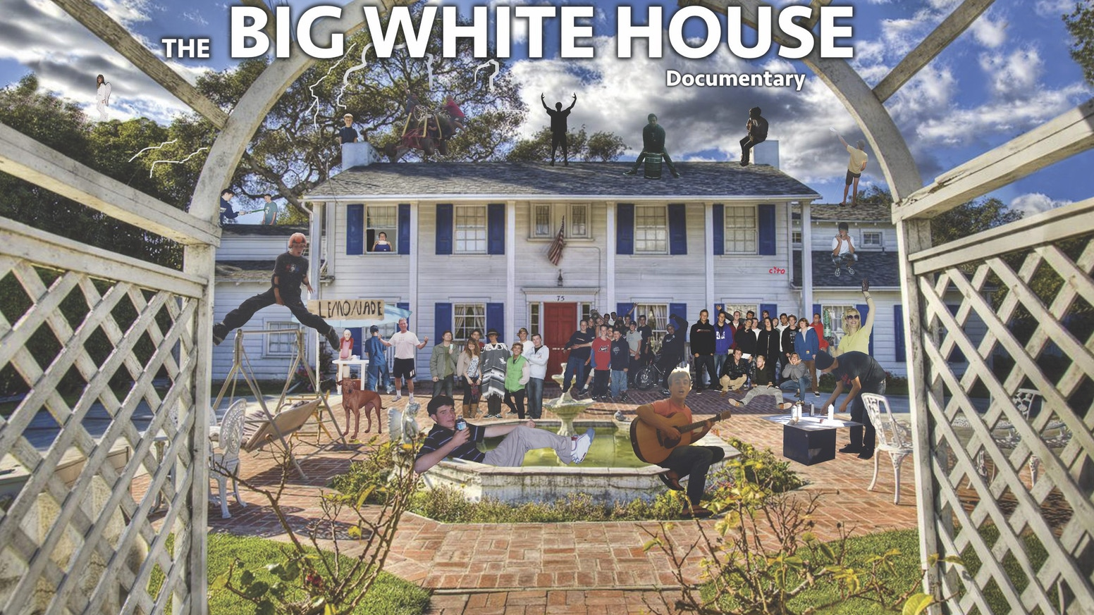 The big white house broken homes dare devil stunts wild antics and the house that brought these lost boys together in one of the richest places on earth