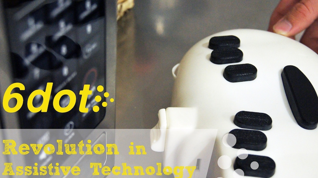 6dot Braille labeler: A sight for sore eyes!? project video thumbnail