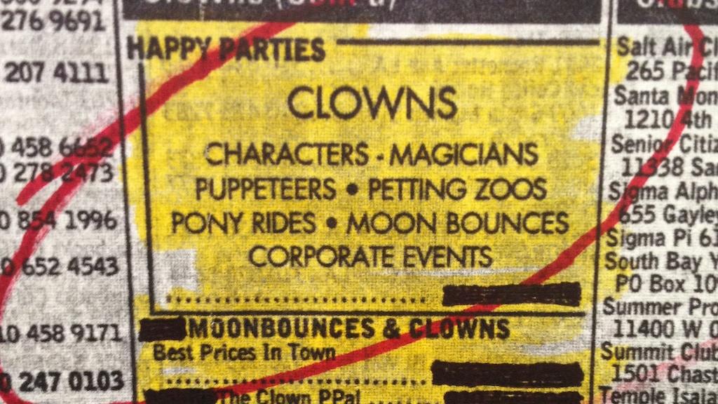Clown Service project video thumbnail