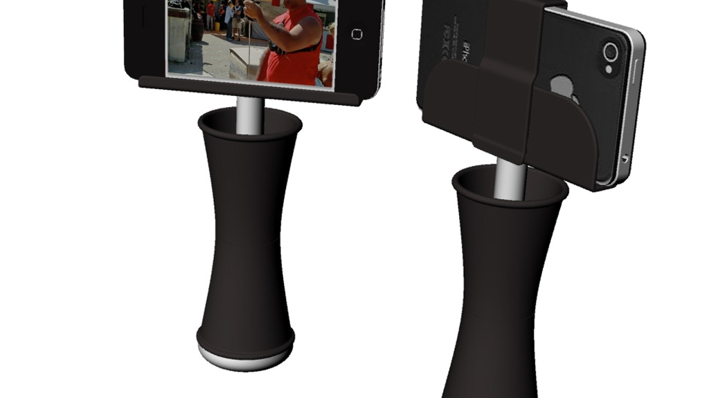 Project image for iSteadi: compact stabilizing snap-in mount for Mobile Phones