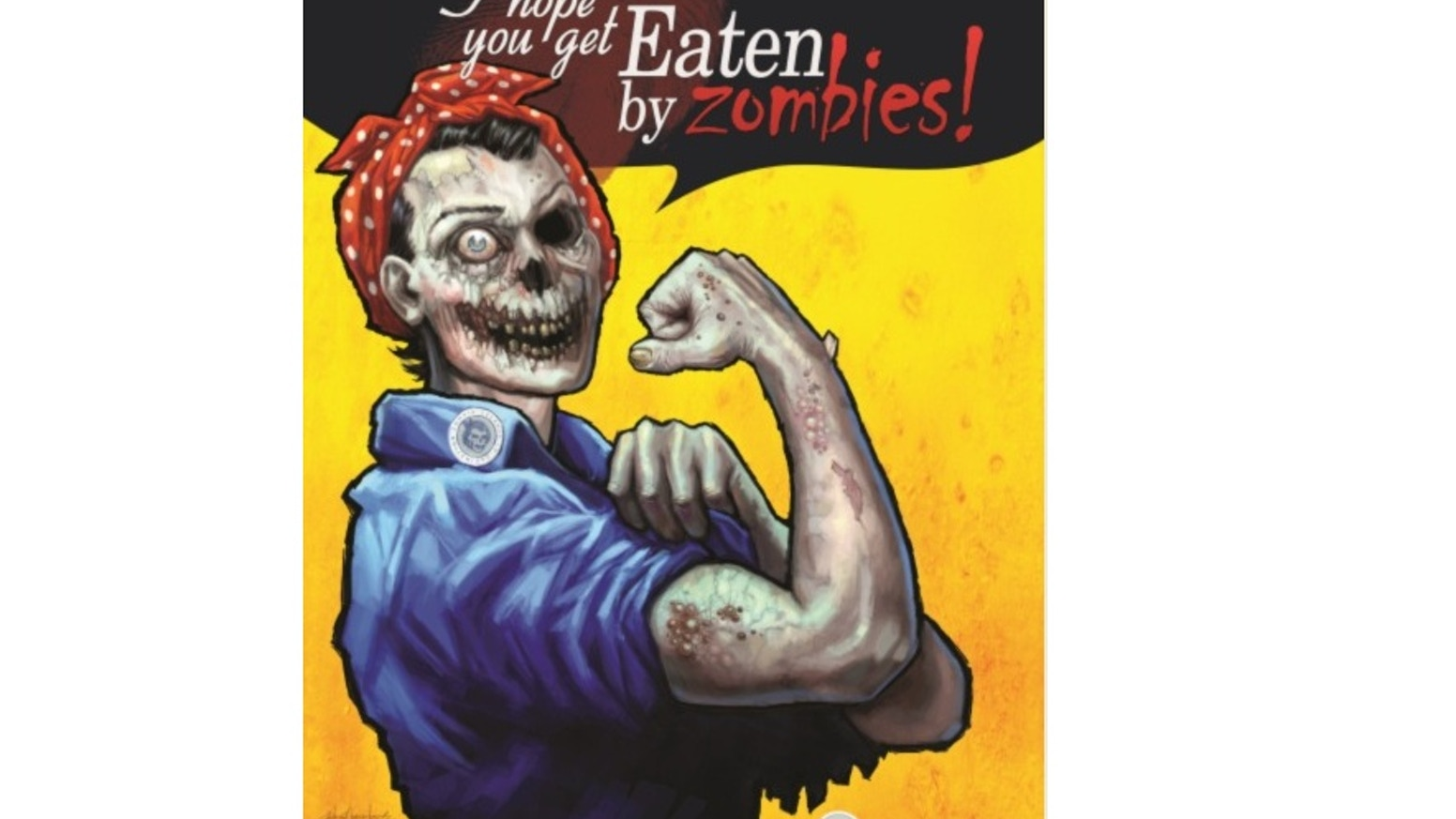 Eaten By Zombies! is a Post-apocalyptic Zombie movie experience in a game for 2-4 players.  Feel the dread, scarcity & doom you crave!