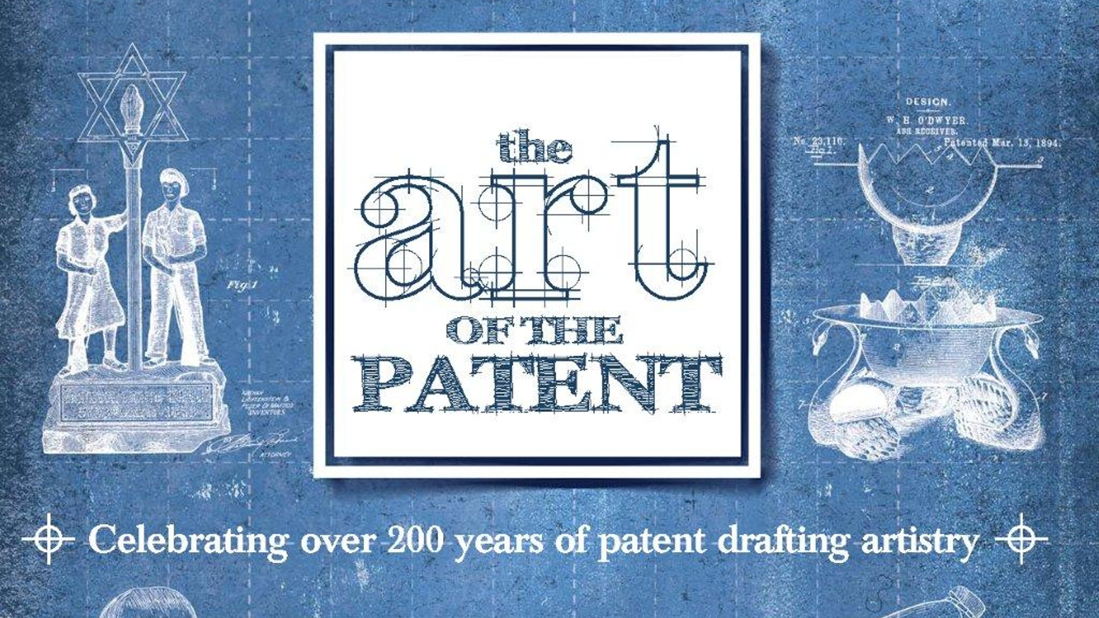 An art book celebrating some of  the best patent drawings of the last 200 years, bringing to light some amazing line-art illustrations.