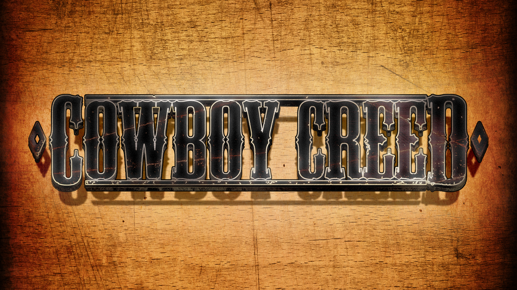 Cowboy Creed - Short Film project video thumbnail