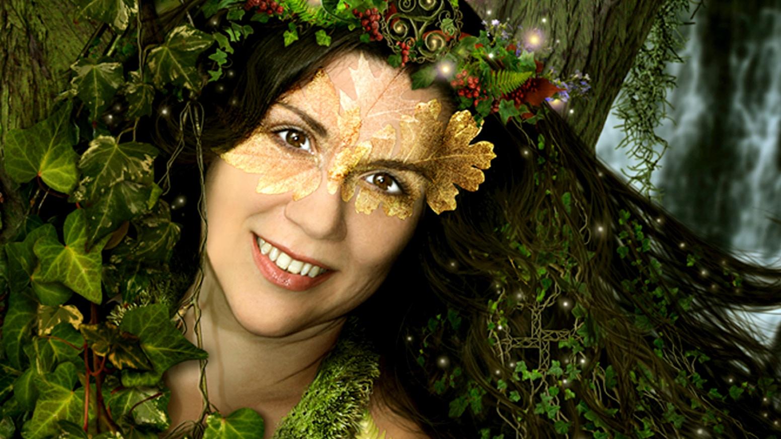 Jenna Greene ~ Wild Earth Child ~ a new CD of healing music by Jenna