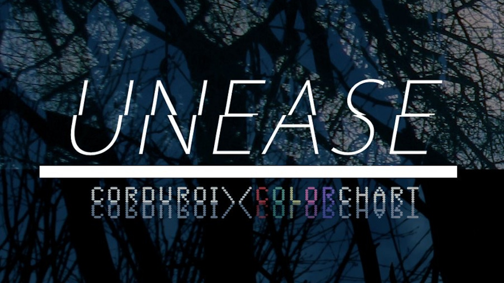 Corduroi Unease Music Video By Color Chart By Color Chart