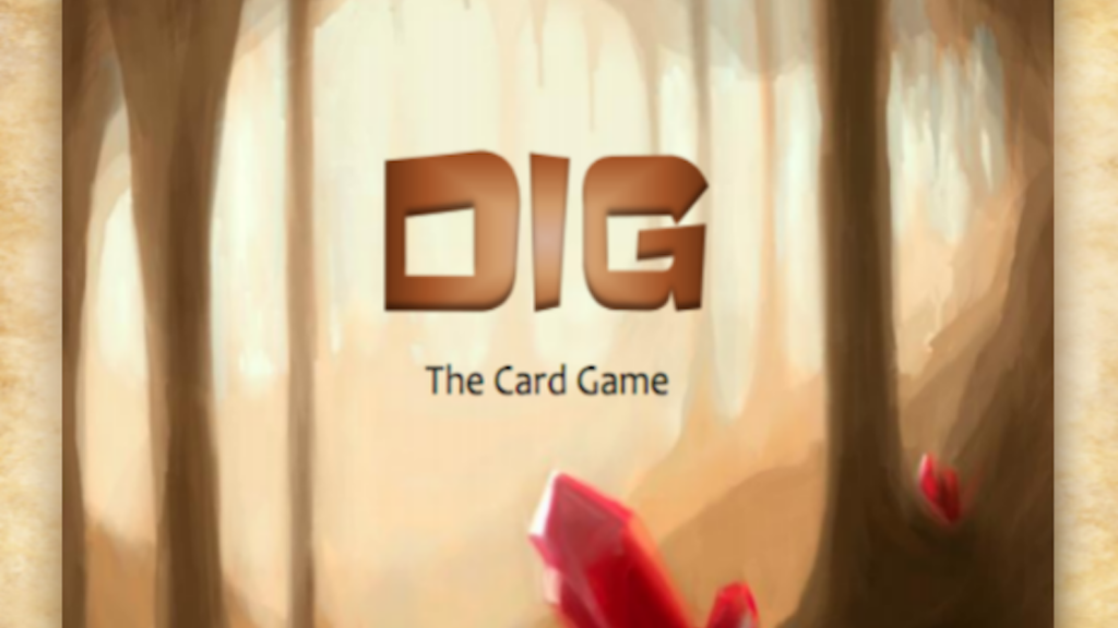 DIG: the Card Game project video thumbnail