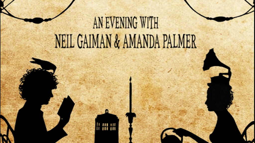 An Evening With Neil Gaiman & Amanda Palmer project video thumbnail