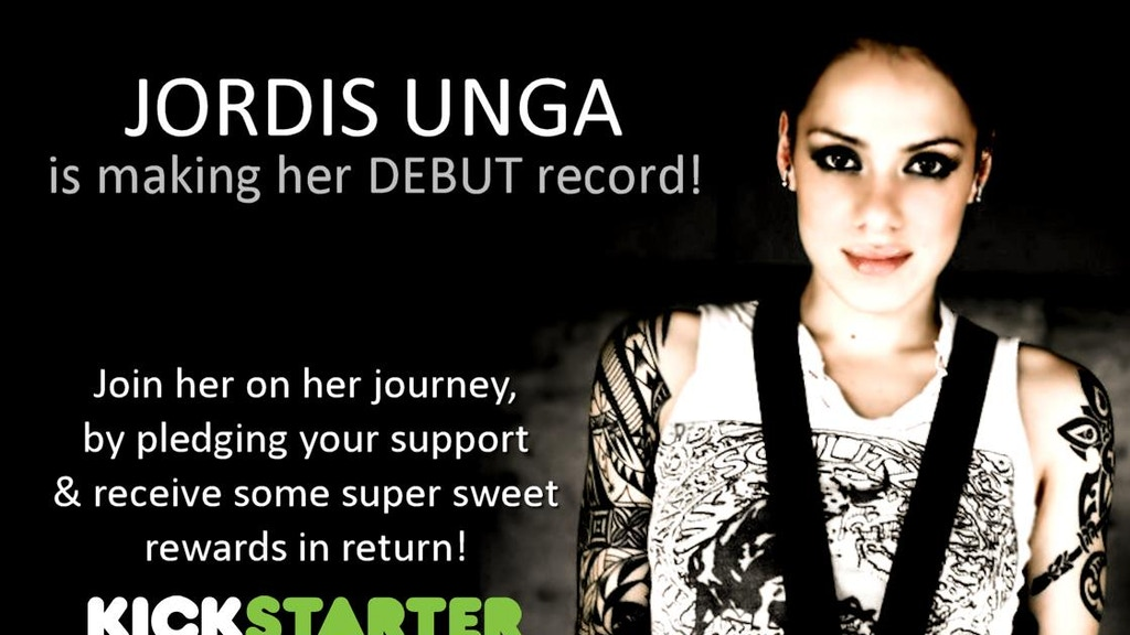 JORDIS UNGA is making her debut record!! project video thumbnail