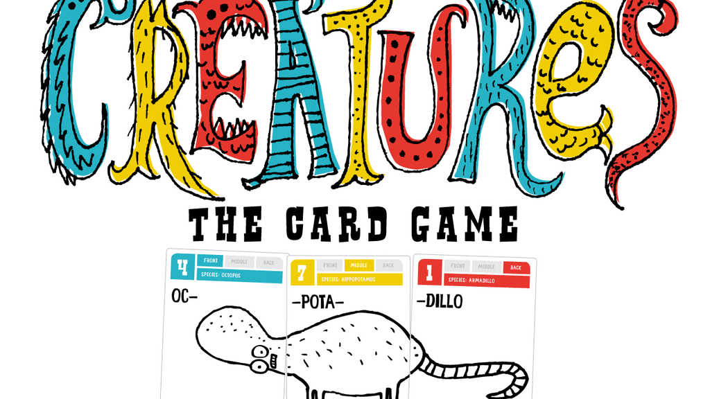 CREATURES - the card game. project video thumbnail