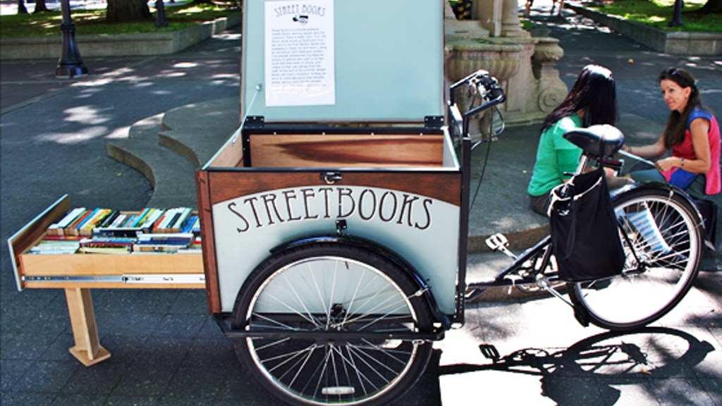 Street Books: A Bicycle-Powered Library for People Outside project video thumbnail