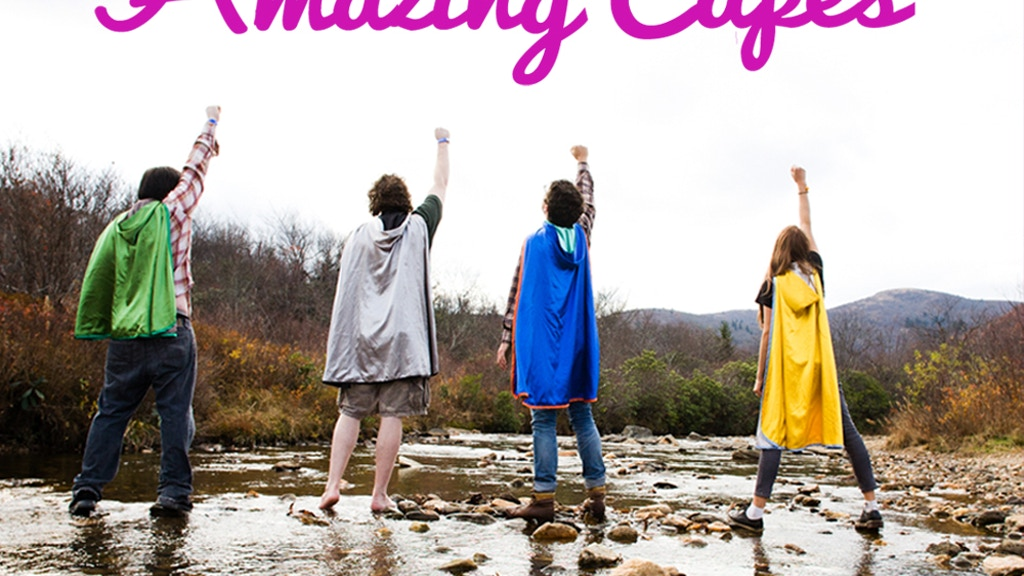 Amazing Capes - Release Your Inner Superhero! project video thumbnail