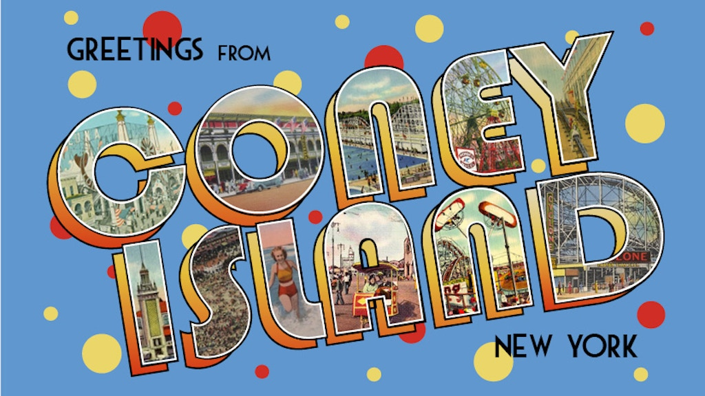 Greetings from Coney Island (a story told via your mailbox!) project video thumbnail