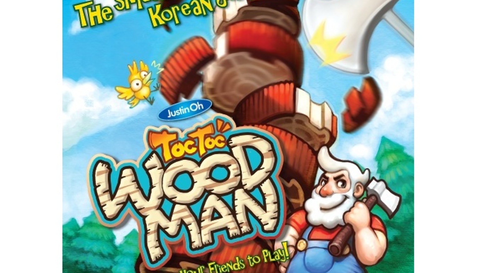 Tok Tok Woodman is a great family dexterity game for 2-7 players.  The game plays in under 10 minutes and is fun for all ages.  Pledge!