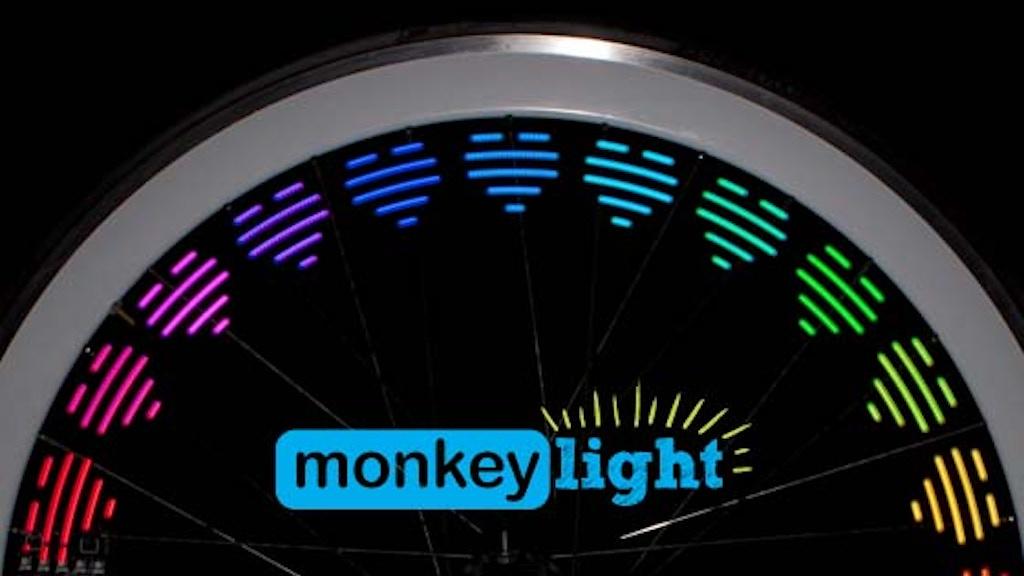 Mini Monkey Light - 8-Bit Bike Light project video thumbnail