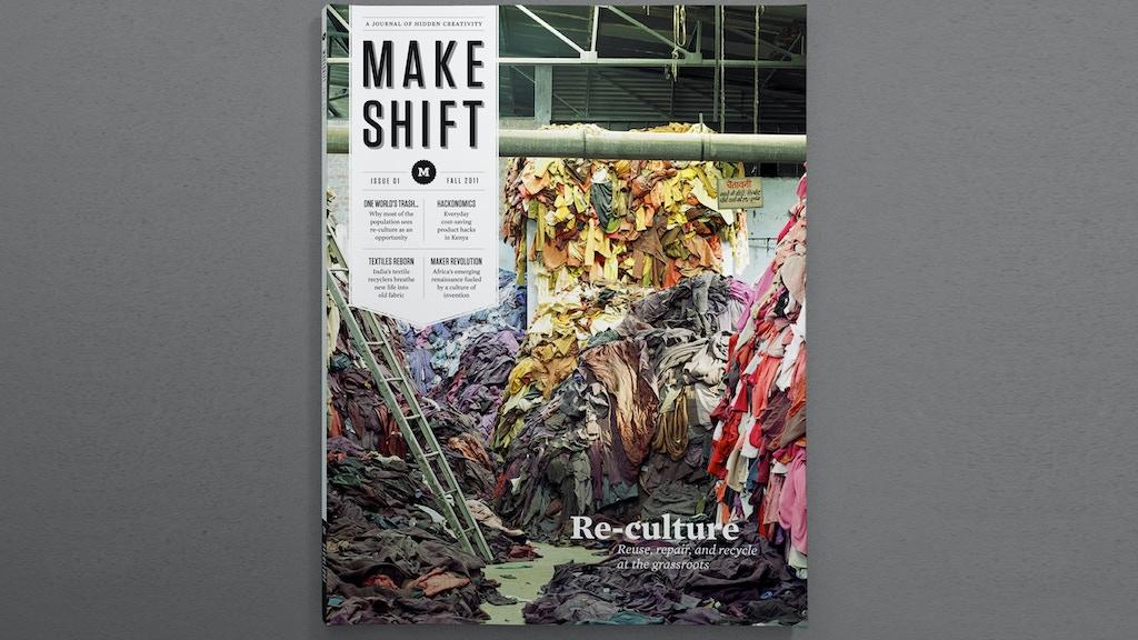 Makeshift Magazine project video thumbnail
