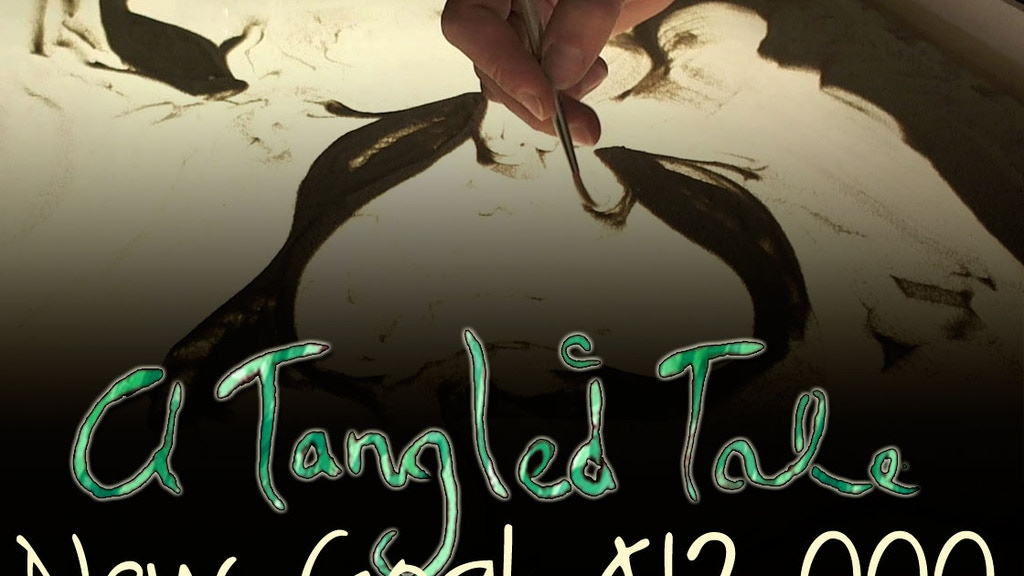 A Tangled Tale - a short sand animation project video thumbnail