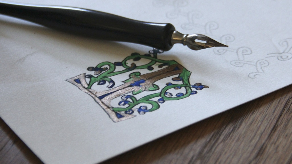 Reviving The Lost Art of Illuminated Manuscripts project video thumbnail