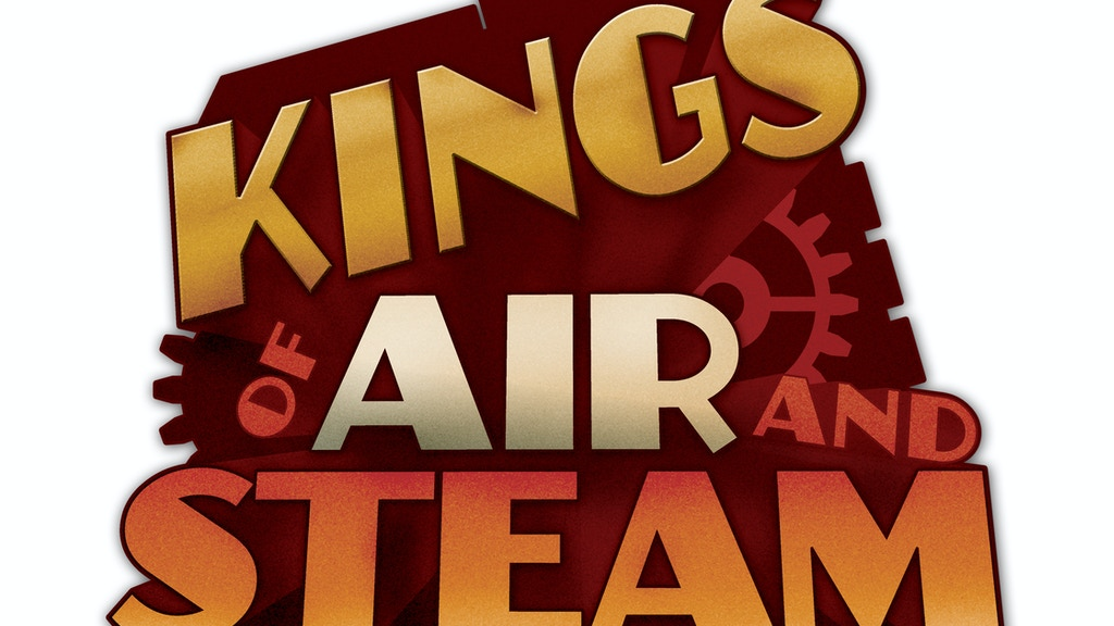 Kings of Air and Steam - a steampunk themed board game project video thumbnail