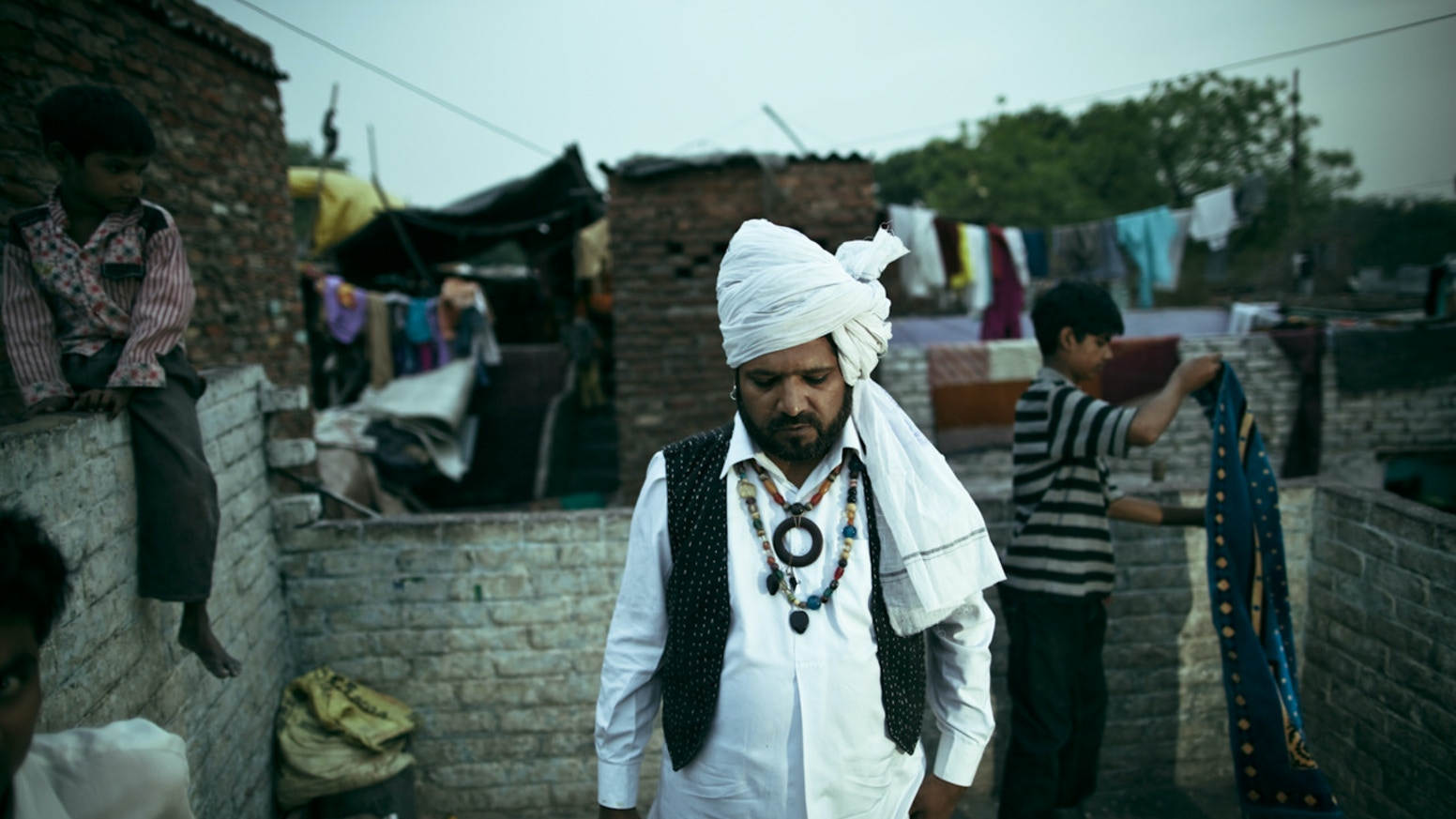 An award-winning feature documentary about Kathputli, India's last home to magicians, acrobats, and puppeteers.