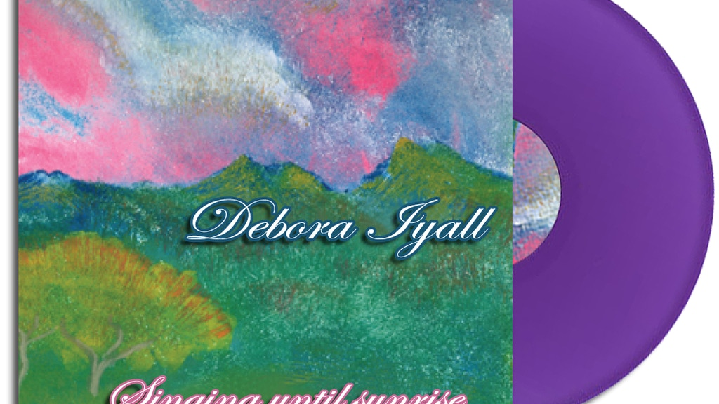 "Debora Iyall's 12"" Vinyl EP- ""Singing Until Sunrise"" project video thumbnail"