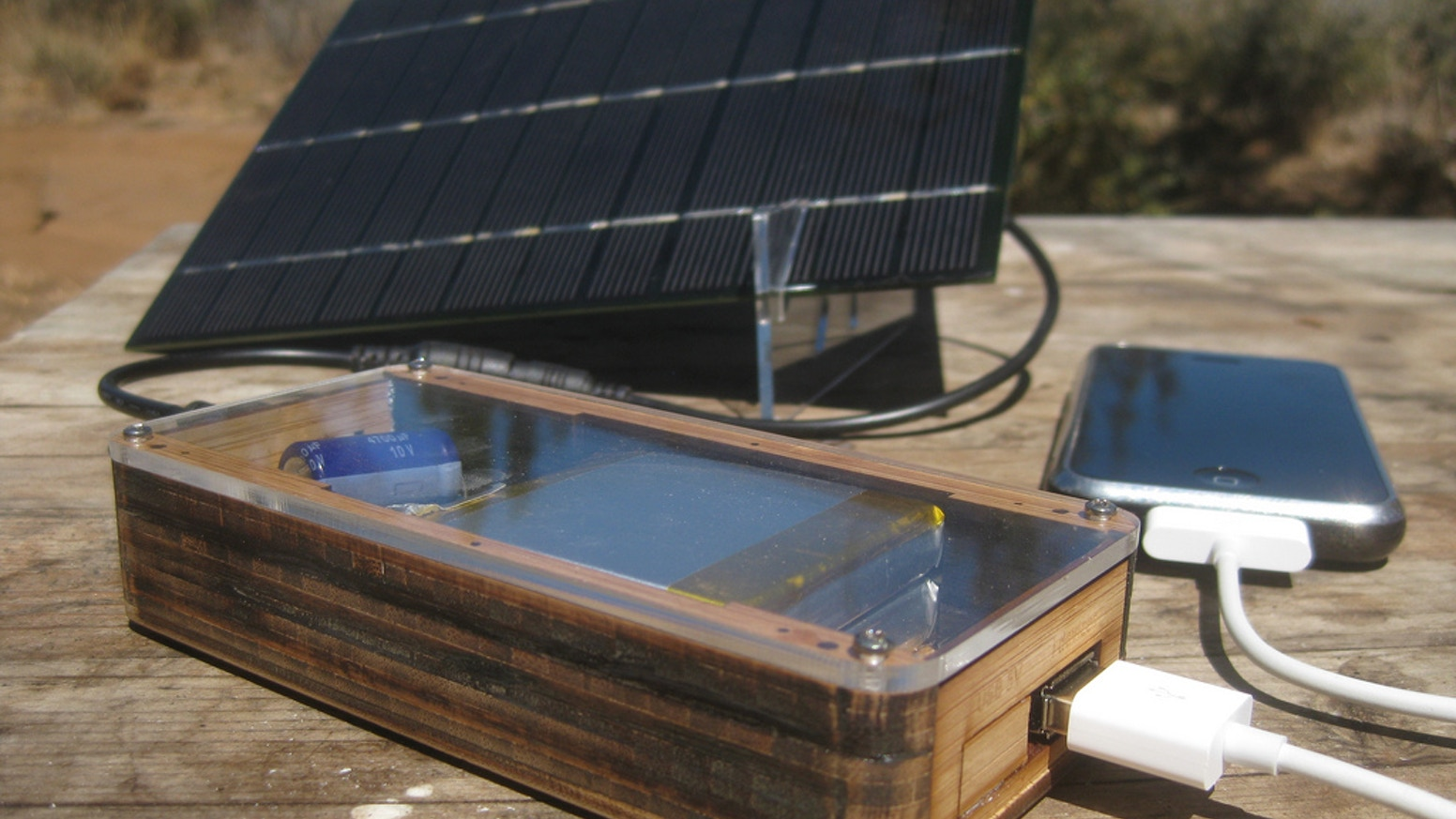 Want to power your smart phone, tablet, Raspberry Pi, or Arduino project with green solar energy? This kit includes everything you need!