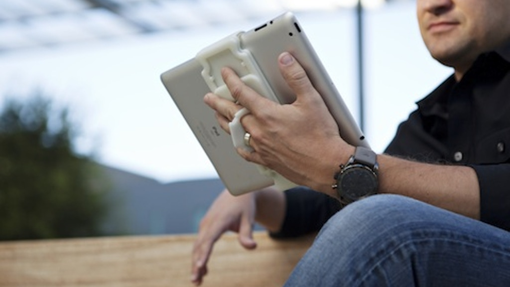 The Tablet Claw - iPad and Tablet Grip project video thumbnail