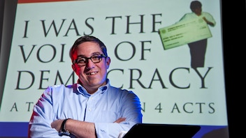 Send I WAS THE VOICE OF DEMOCRACY to NYC's Dixon Place