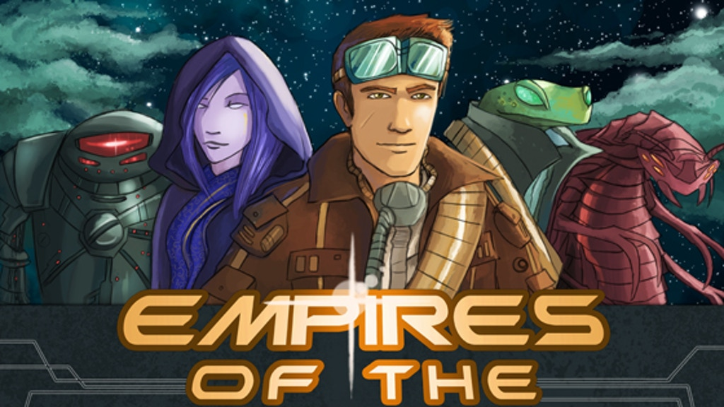 Empires of the Void -  Board Game of Galactic Conquest project video thumbnail
