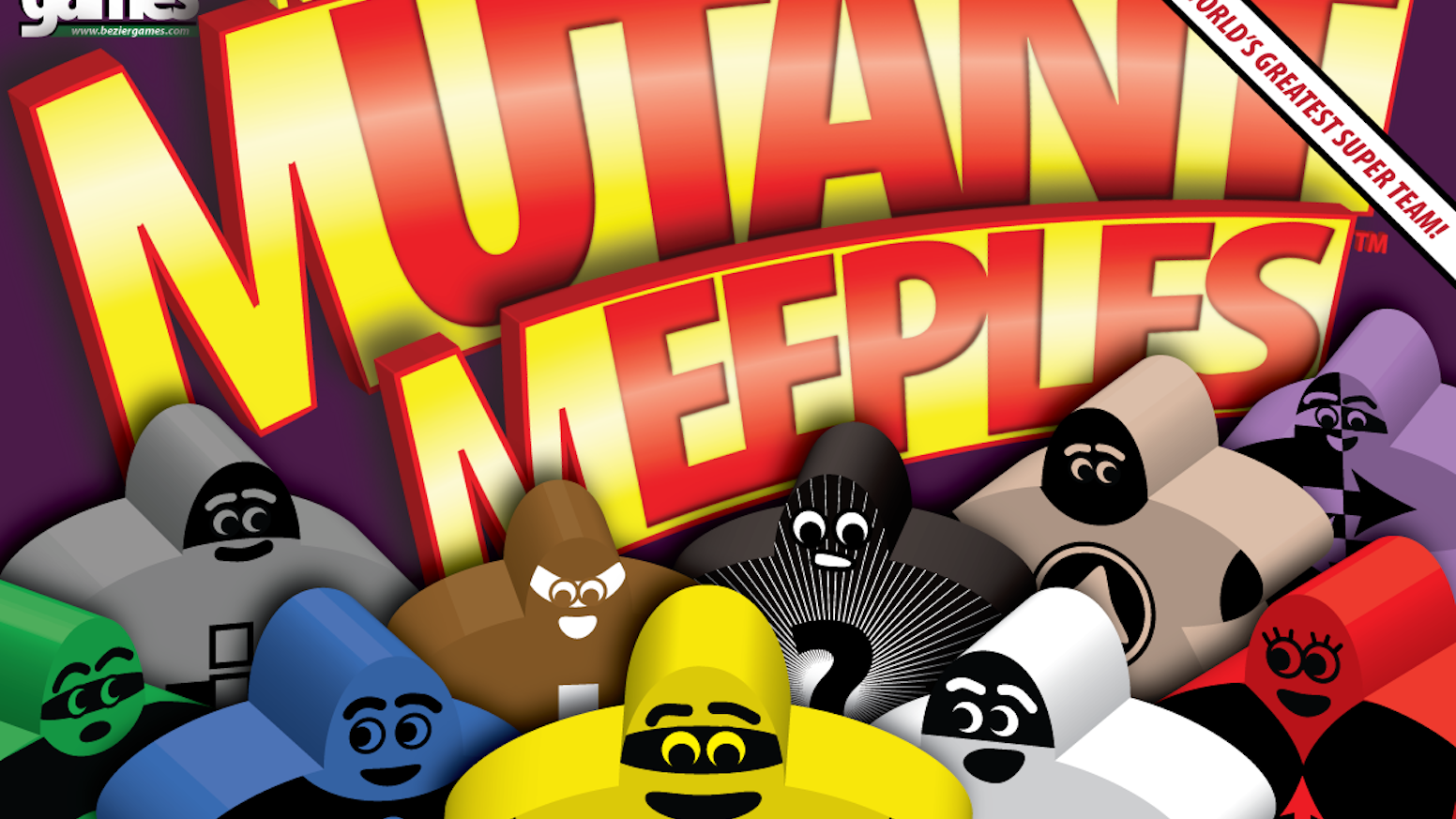 Mutant Meeples by Bezier Games — Kickstarter