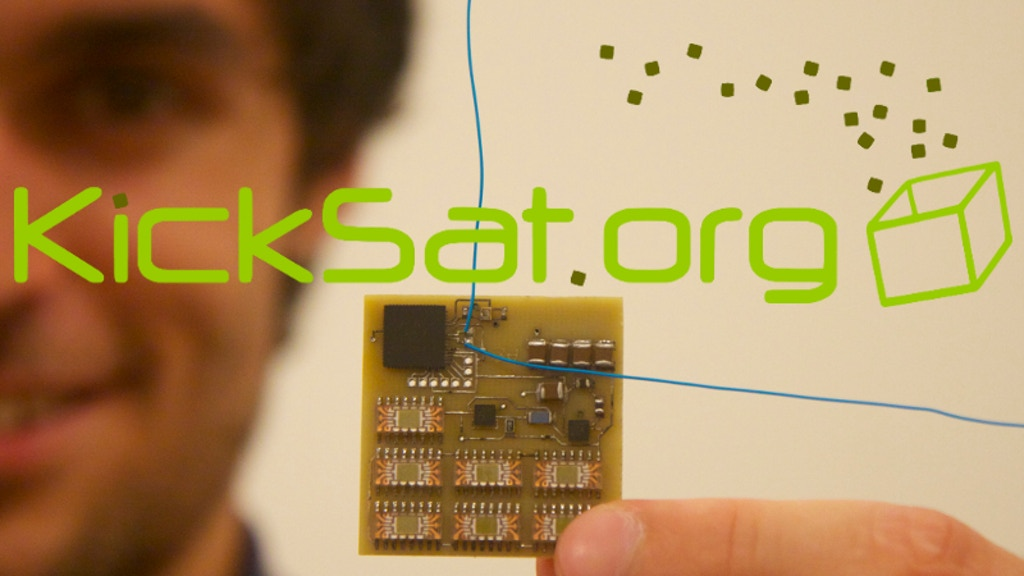 KickSat -- Your personal spacecraft in space! project video thumbnail