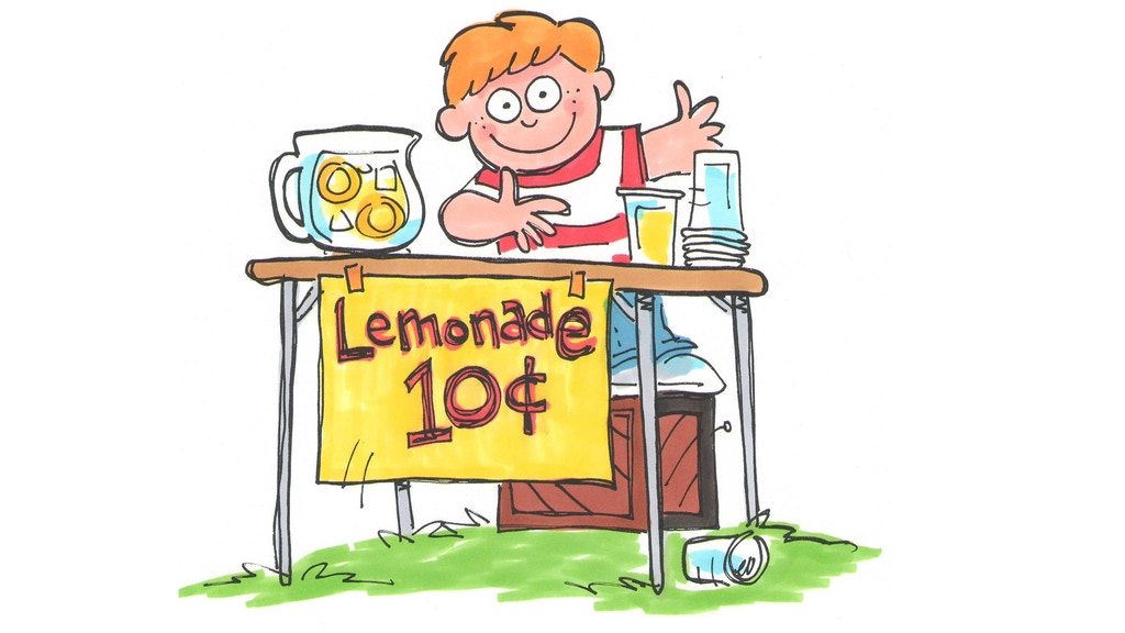 Lemonade Stand 4 Player Quick Strategy Card Game project video thumbnail
