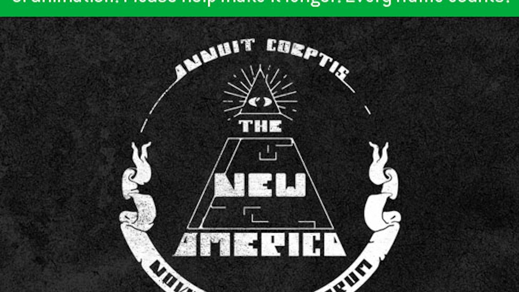 """""""The New America"""" Short Film & Engraved Art project video thumbnail"""