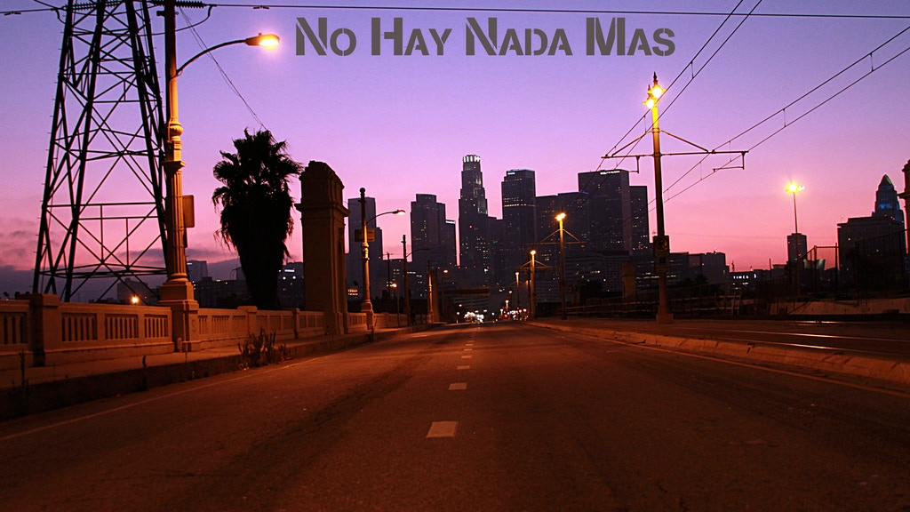 """No Hay Nada Mas"" - A CSUN Senior Thesis Production project video thumbnail"