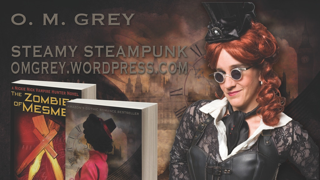 Blood, Sex, & Cogs: Steamy Steampunk & More project video thumbnail