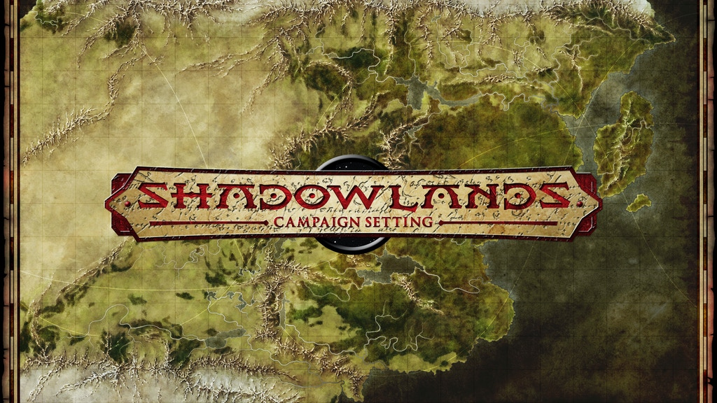 Shadowlands: Epic Fantasy Sci-Fi Mashup Setting project video thumbnail