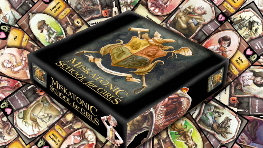 Miskatonic School for Girls Deck Building Game project video thumbnail