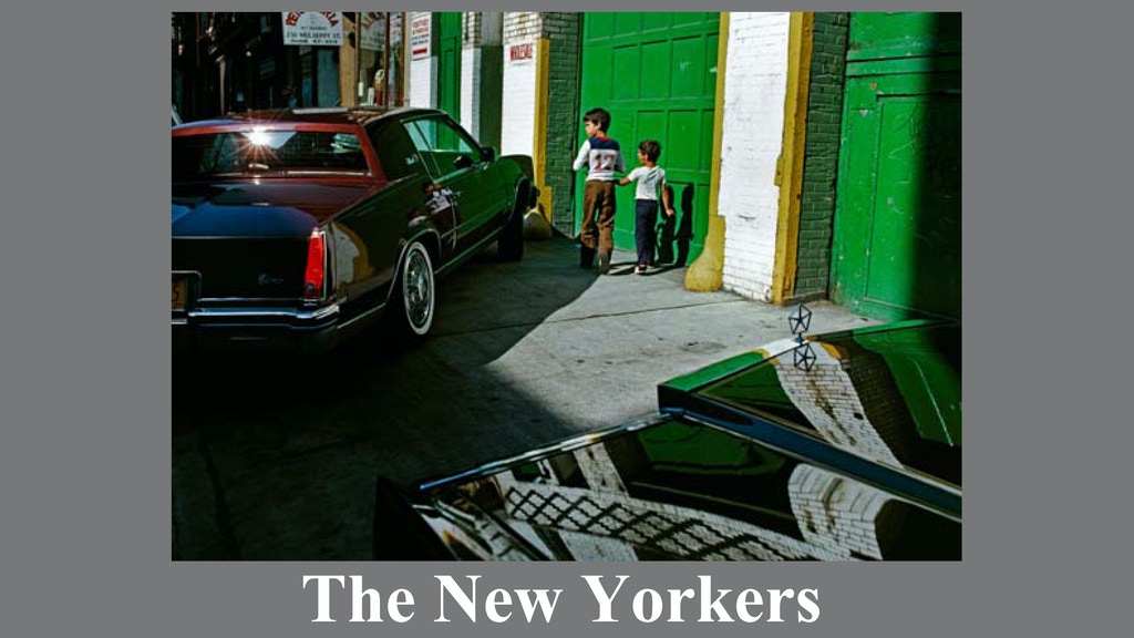 The New Yorkers project video thumbnail
