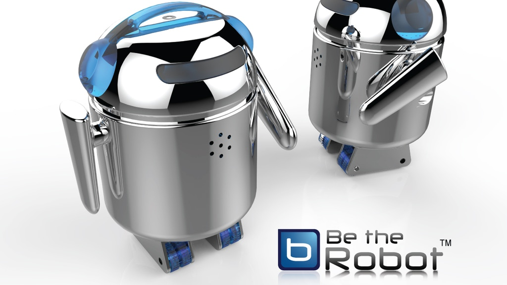 Be The Robot (BERO)-Bluetooth Controlled Open Source Robot project video thumbnail