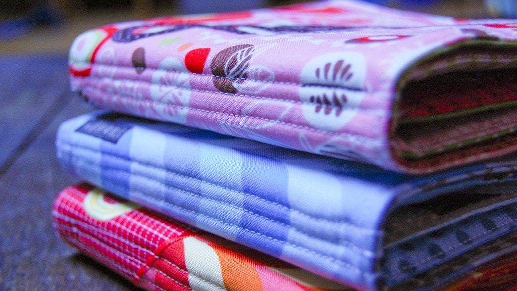 Cloth Book of the Month project video thumbnail