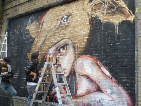 The Wall London S Most Public Gallery By Auro Foxcroft